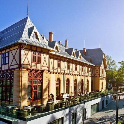 Luxus, noblesa a prvotřídní služby. To je Hotel Lomnica - obnovený klenot Vysokých Tater