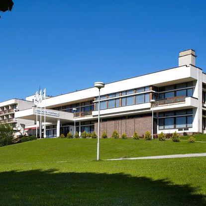 Pohoda v Luhačovicích: polopenze, sauna a procedury