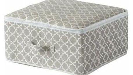 """Compactor Textilní úložný box na zip Compactor - """"Madison"""" 46x46x20.5 cm"""