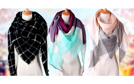 Příprava na chladné dny: hřejivé dámské šály