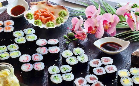 Sushi sety z restaurace v Zábřehu: 40–56 ks