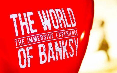 Vstupné na výstavu The World of Banksy