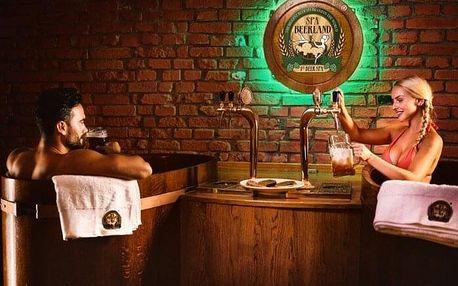 Pivní lázně ve SPA BEERLAND pro dva