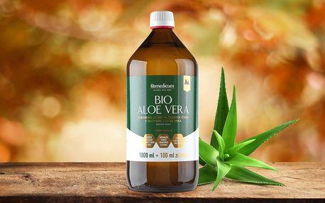Pro silnější imunitu: 1,1 l aloe vera gelu s dužinou