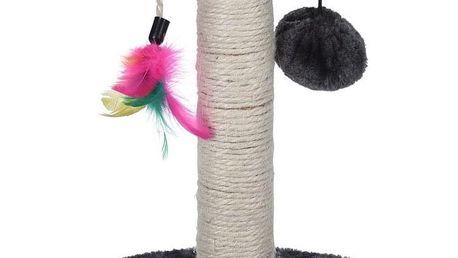 Koopman Škrábadlo Cat Tree šedá, 30 cm