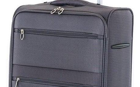 Pretty UP Cestovní textilní kufr TEX15 M, šedá