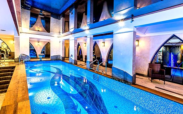 Luxusní resort v Polsku s polopenzí a wellness