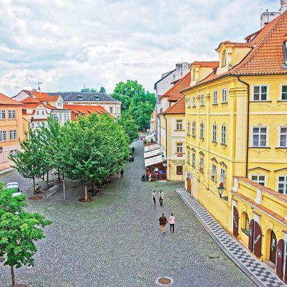 Privátní ubytování pro 2 osoby na Královské cestě s výhledem do Nerudovy ulice