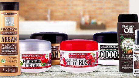 Italské vlasové masky, šampony i vlasové sérum