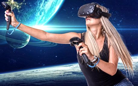 90 minut zábavy: virtuální realita až pro 4 osoby