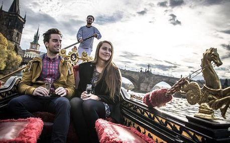 Jízda na gondole Pražskými Benátkami