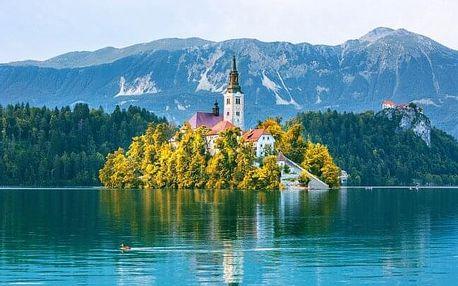 Slovinsko: Pobyt blízko krásného Národního parku Triglav a jezera Bled v Hotelu Grajski dvor *** s polopenzí