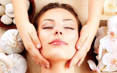 Kosmetická péče dle výběru třeba i masáží hlavy