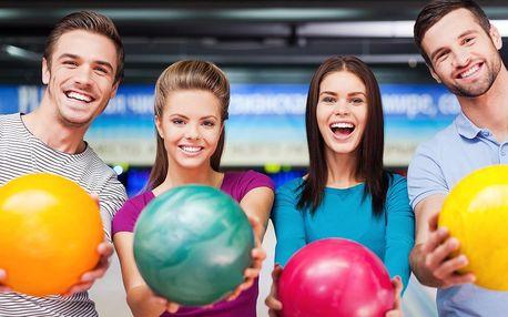 Hodina bowlingu až pro 6 osob a 2× mojito