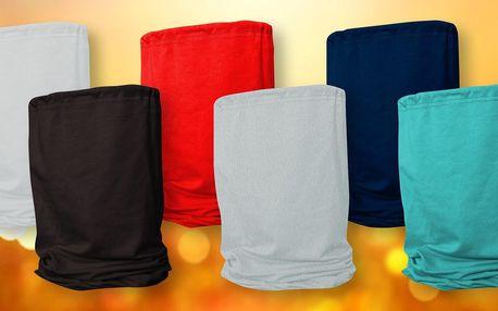 Pružné nákrčníky z bio bavlny pro celou rodinu