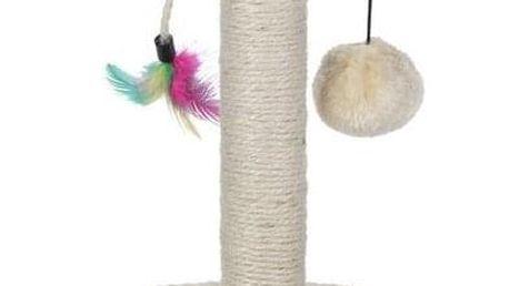 Koopman Škrábadlo Cat Tree béžová, 30 cm