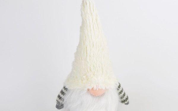 Vánoční textilní Skřítek Beny, 33 cm