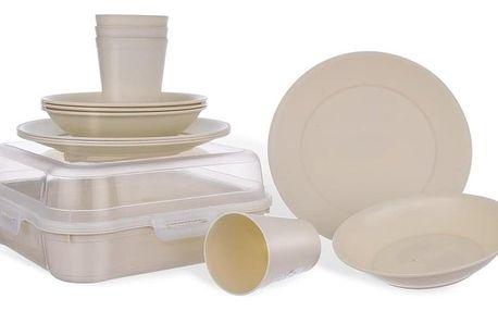 Orion Sada plastového nádobí Piknik, 13 ks