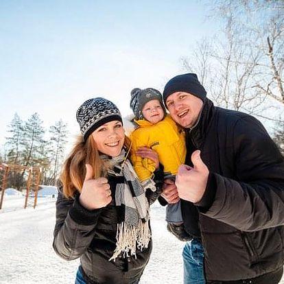 Zimní dovolená v Hotelu Maxov v Jizerských horách v hlavní sezoně.