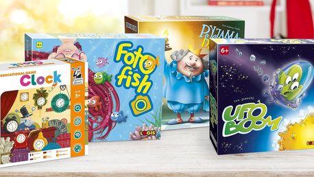 Deskové i karetní hry pro zvídavé předškoláky