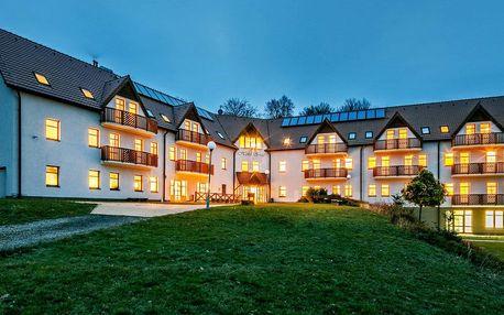 4* hotel v Krušných horách s wellness a polopenzí