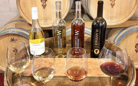 Prohlídka vinařství Johann W s degustací: 1–15 os.