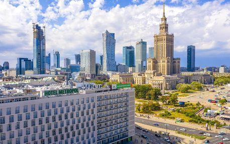 Polsko - Warszawa na 4-15 dnů, snídaně v ceně