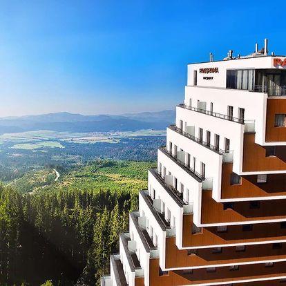 Oblíbený hotel Panorama**** u Štrbského plesa