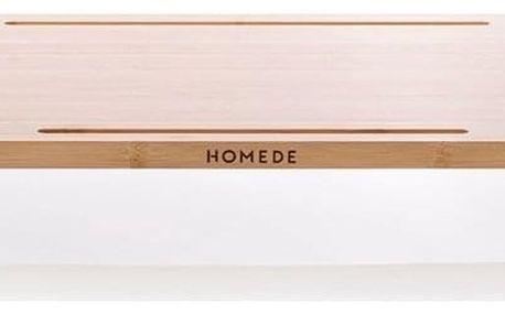 Bambusový stolek pod notebook Ochte, 65 x 30,5 x 9 cm