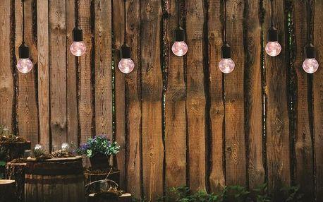 LED zahradní svítidla s konektorem Gedest, startovací sada, 8 m