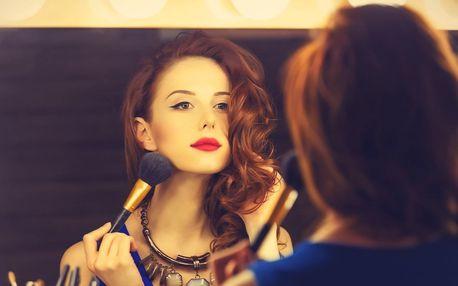 Kurzy líčení pro ženy i muže i s balíčky kosmetiky