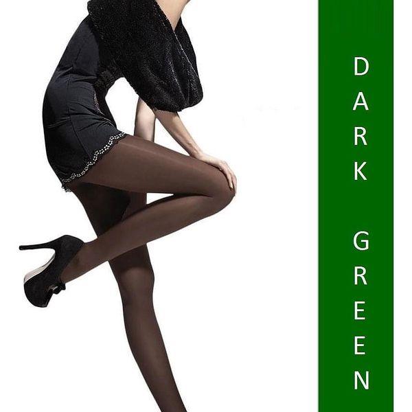2x dámské punčocháče Fiore Paula 40 DEN | Velikost: 2 | Black3