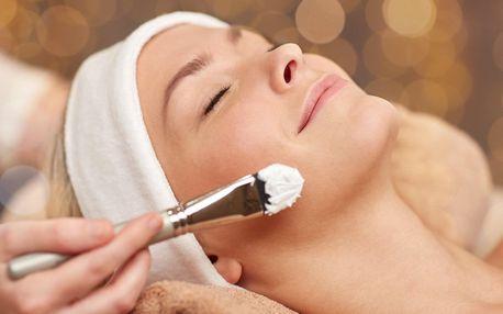 Až 90minutová kosmetická péče o obličej, krk a dekolt