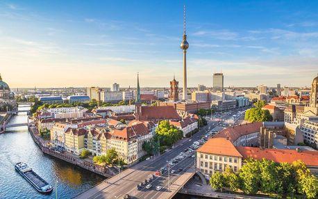 Berlín: 3* Hotel Amber Econtel se snídaní u metra