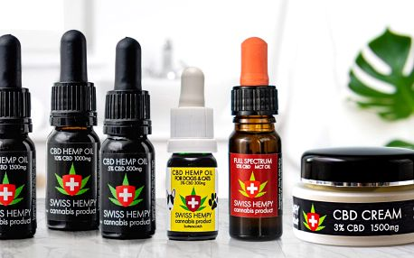 Léčivá síla konopí: 5–30% CBD oleje nebo krém