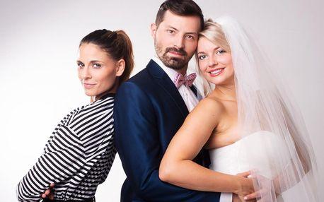 """Vstupenka na divadelní představení """"Dokonalá svatba"""""""