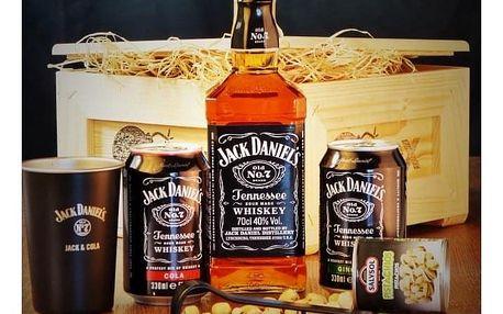 Dárková bedna s páčidlem pro muže Jack Daniel's