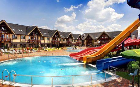 Komfortní pobyt v zbrusu novém 4* hotelu přímo ve vodním parku Bešeňová