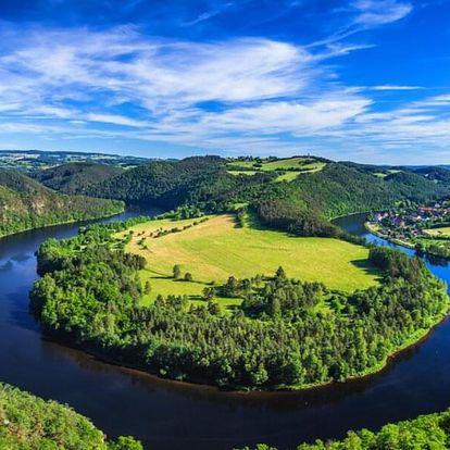 Pobyt s polopenzí nedaleko Orlické přehrady