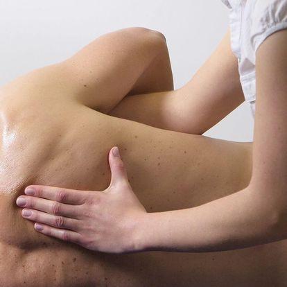 Půlhodinová sportovní hloubková masáž (zdravotní masáž)