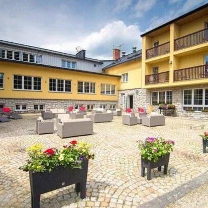 Polské Krkonoše na hranicích s Českem blízko cyklotras: Hotel Biathlon Jakuszyce *** s wellness a polopenzí