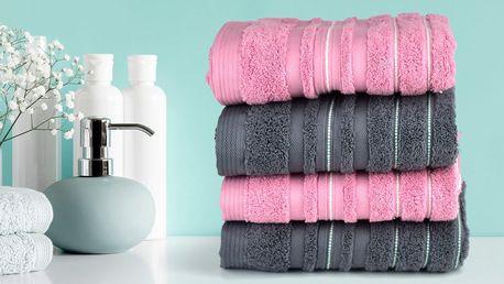 Měkoučké froté ručníky a osušky ze 100% bavlny