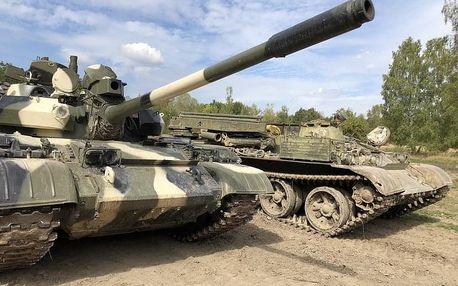 Řízení tanku T-55 a BVP-1 + střelba na střelnici
