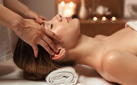 45minutová uvolňující masáž proti migréně