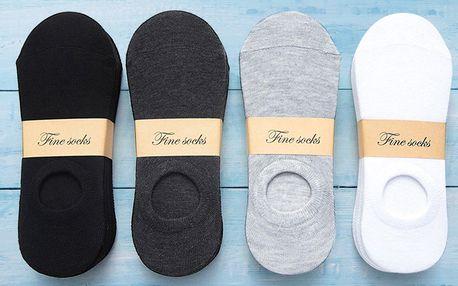 V botách po nich není vidu: 5 párů nízkých ponožek