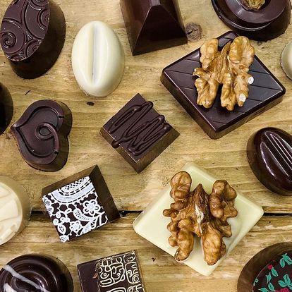 Pralinky z čokoládovny Yesterka: 100 nebo 200 g