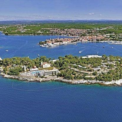 Chorvatsko - Poreč na 7-12 dnů, polopenze