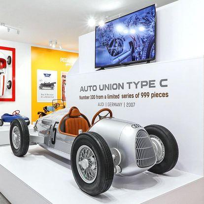 Muzeum šlapacích autíček: vstup pro děti i dospělé