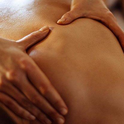 Léčebné masáže zad a šíje nebo i celého těla