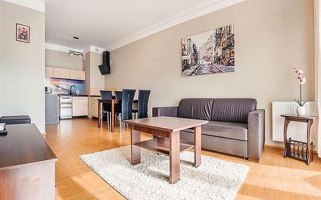 Balt: vybavené apartmány až pro 4 blízko pláže